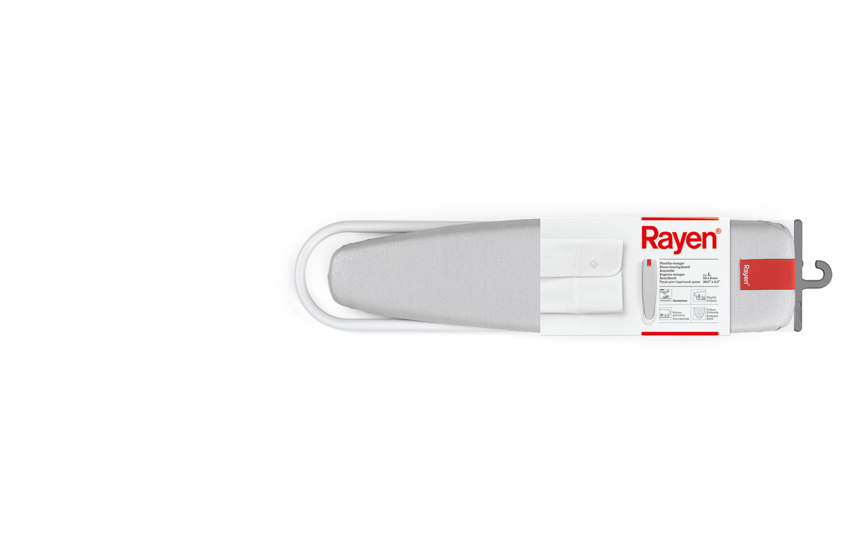 slider-tabla Rayen | Soluciones innovadoras para el hogar | Tabla plancha-mangas | Rayen.com